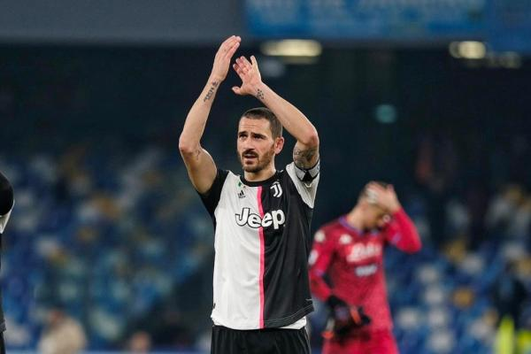 Leonardo Bonucci plays his 300th match for Juventus against Atalanta.