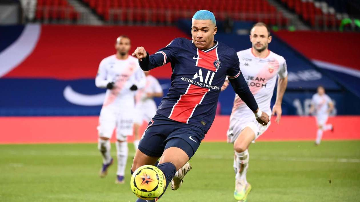 PSG vs Lorient Highlights FRANCE Ligue 1 - Round 15