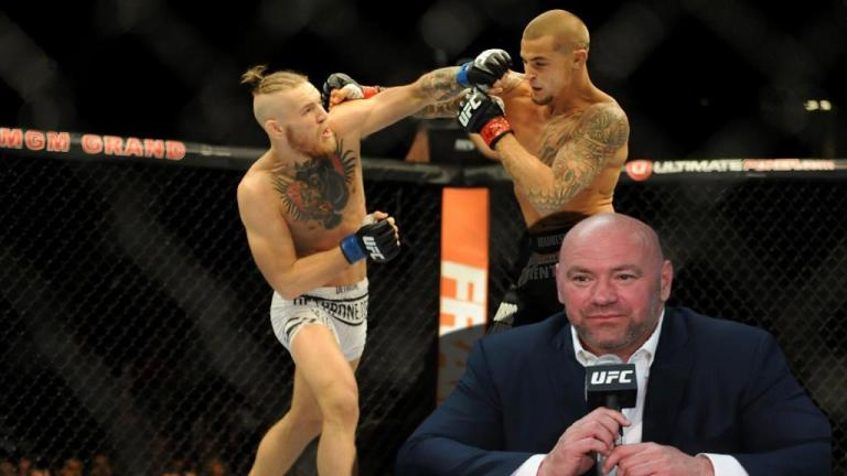 Dana White confirms that McGregor and Poirier will not fight for the title