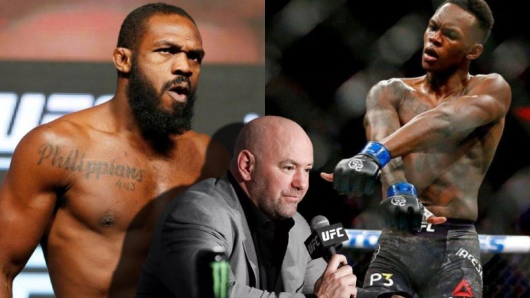 Dana White named the weight in which Jon Jones and Israel Adesanya should fight