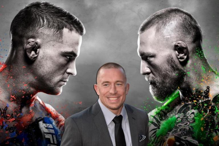 Georges St-Pierre named keys to victory for McGregor and Poirier