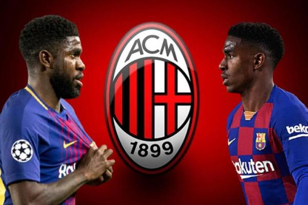 Milan targets two Barcelona players