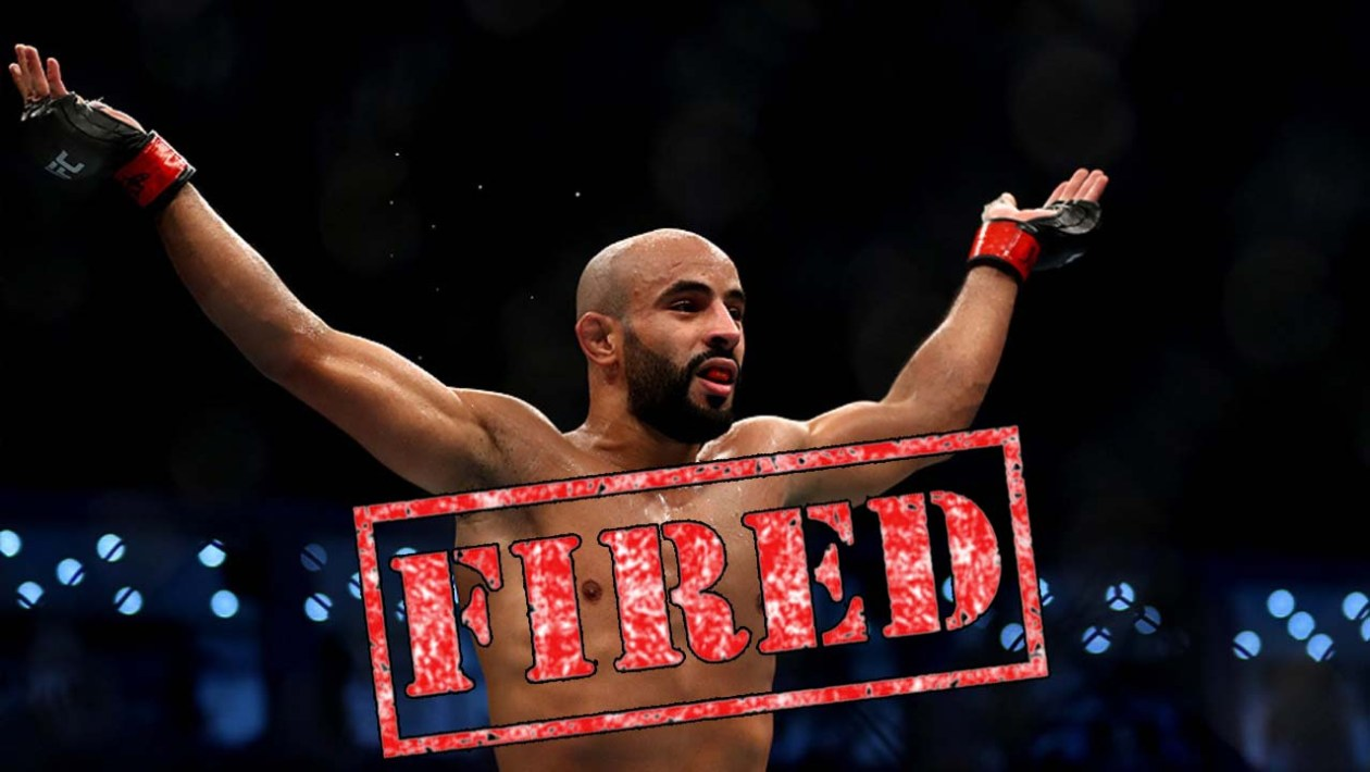 Ottman Azaitar was fired by the UFC for violating quarantine rules.
