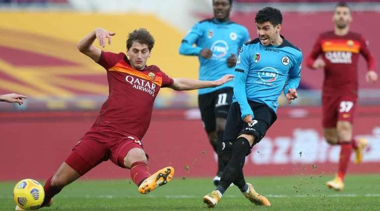 Roma vs Spezia Highlights 23 January 2021