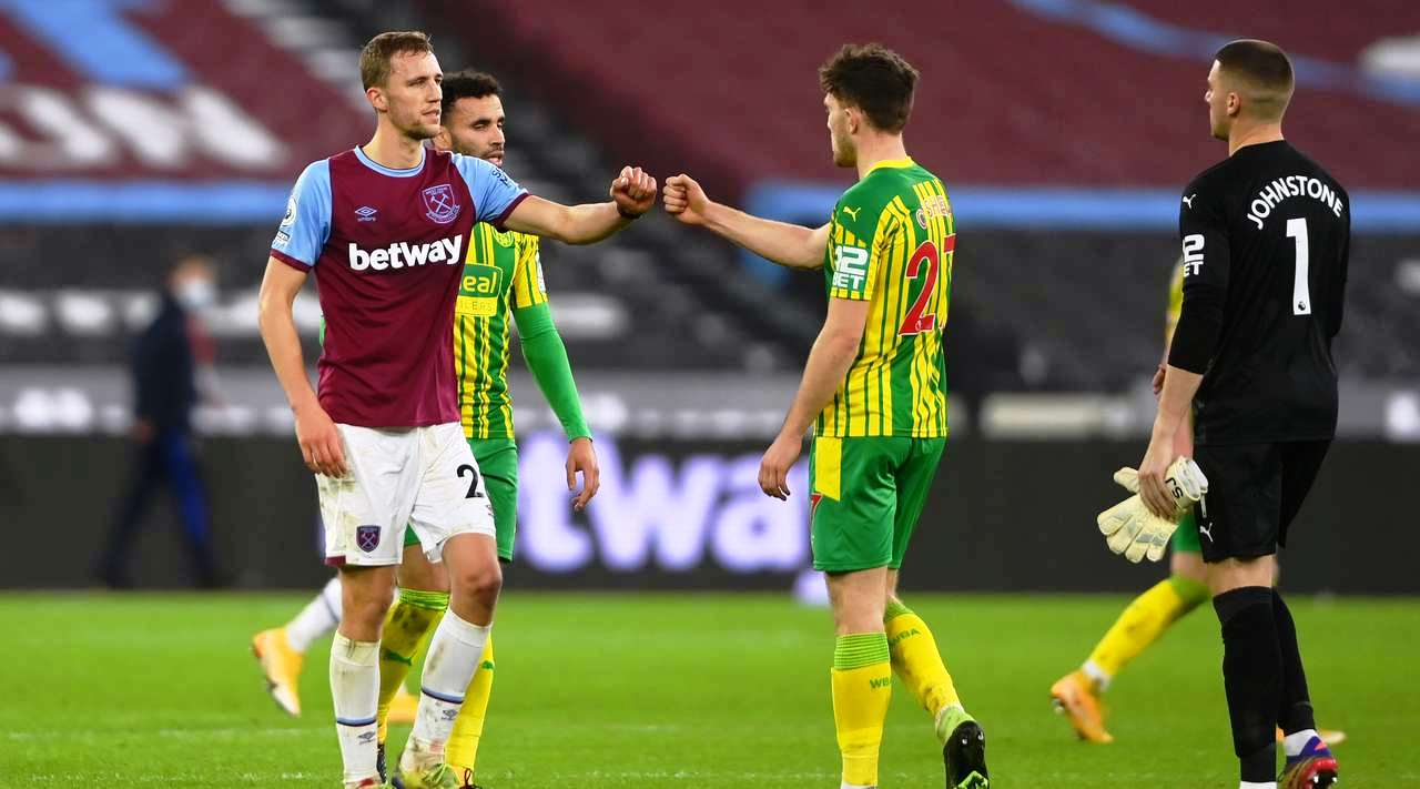West Ham United vs West Bromwich Albion Highlights 19 January 2021