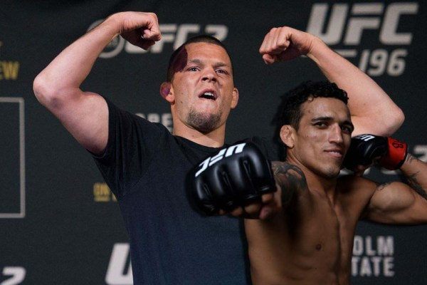 Charles Oliveira sees no point in fighting Nate Diaz.