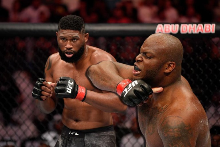 Derrick Lewis promises to knock out Curtis Blaydes before the third round