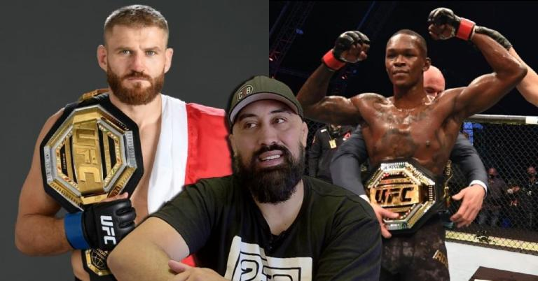 Eugene Bareman answered questions about the weight in which Adesanya will fight Blachowicz.