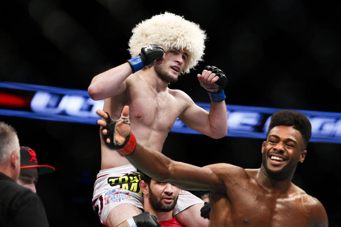 Aljamain Sterling Khabib is a very tough guy, I respect him very much