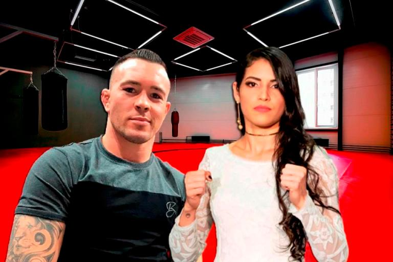Colby Covington talks about relationship with UFC fighter Polyana Viana