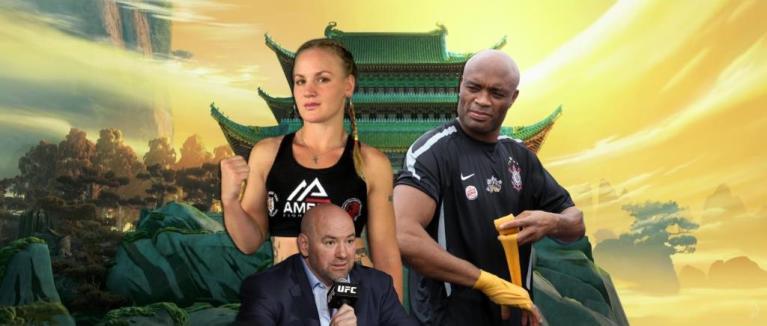 Dana White compared Valentina Shevchenko with Anderson Silva