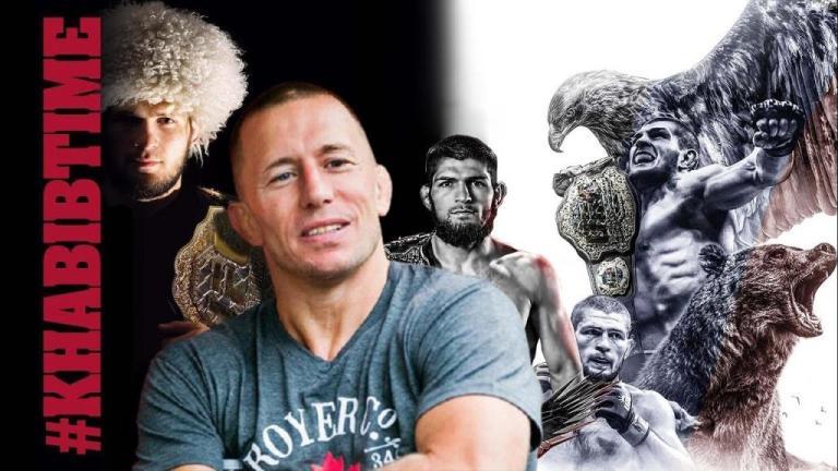 George St-Pierre explained why the UFC won't let go of Khabib Nurmagomedov