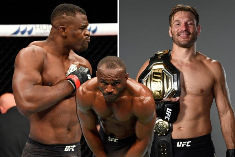 Kamaru Usman helps Francis Ngannou prepare for rematch with Stipe Miocic