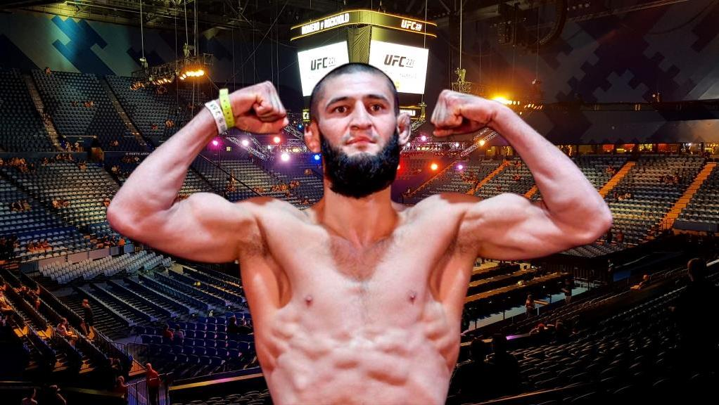 Khamzat Chimaev announced his return to MMA