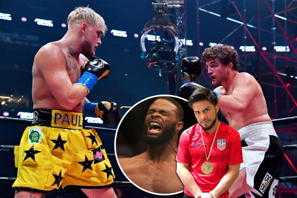 Henry Cejudo, in his usual eccentric style, spoke about a potential boxing match between the former welterweight champion (77 kg) Tyron Woodley and YouTube star Jake Paul