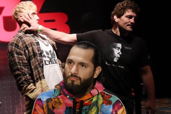 Jorge Masvidal explained why he will be up against Ben Askren in a fight with Jake Paul.