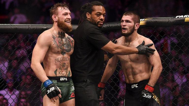 Conor McGregor insulted Khabib Nurmagomedov and deleted the tweet.