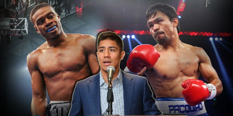 Manny Pacquiao can shock Errol Spence with his power – says Jessie Vargas