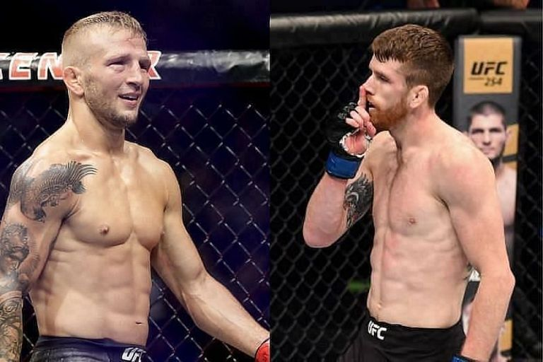 UFC confirms that TJ Dillashaw vs Cory Sandhagen has been postponed for July 24