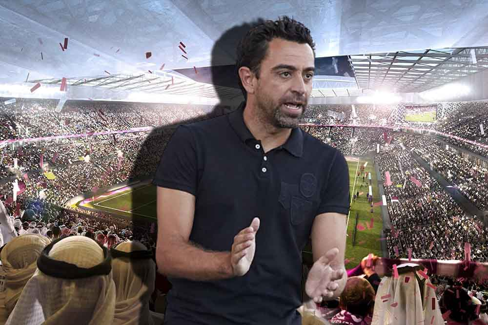 Xavi rejected offers to lead the Brazilian national team and Borussia Dortmund