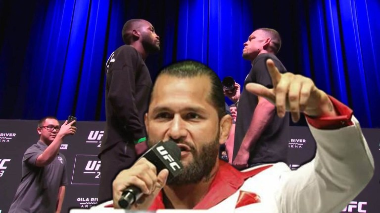 Jorge Masvidal tells his predictions for UFC 263, including a Nate Diaz win over Leon Edwards