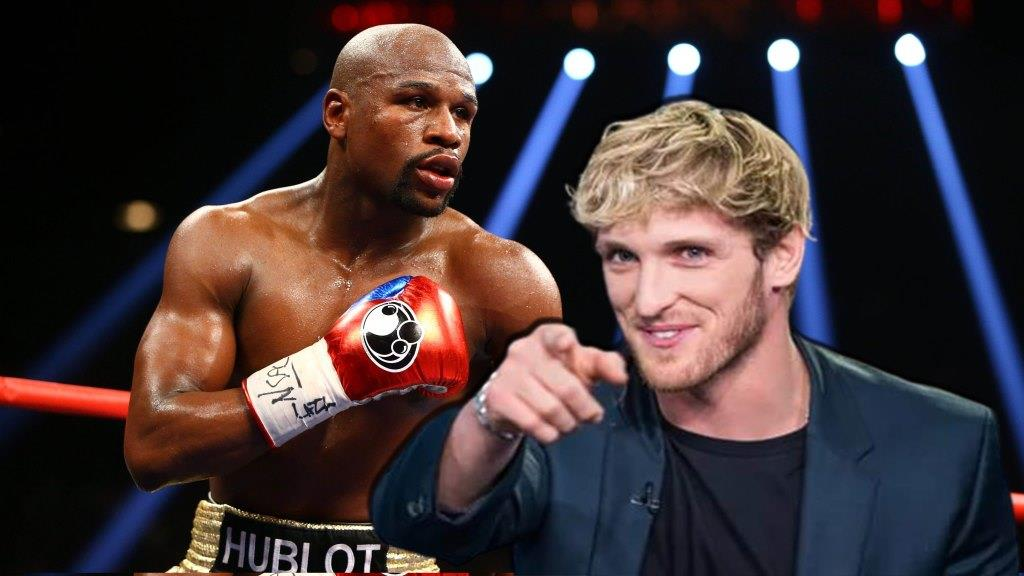 """Logan Paul 0-1 boxer says he'll will win 50-0 all-time great Floyd Mayweather """"Quit In Six"""""""