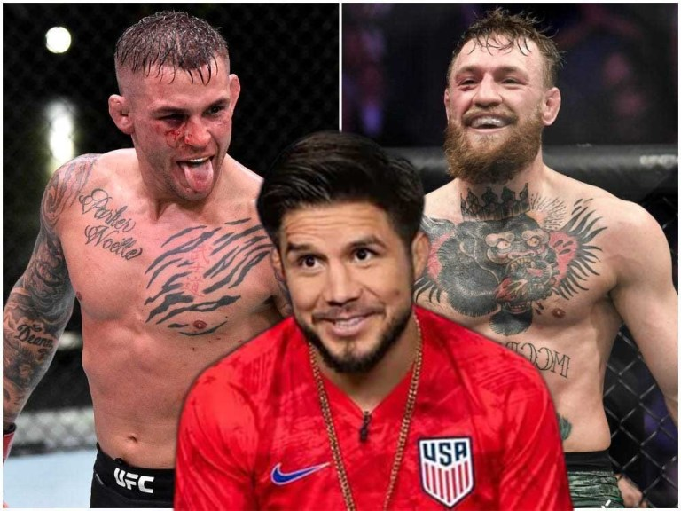 Henry Cejudo isn't giving Conor McGregor any chance to defeat Dustin Poirier at UFC 264.