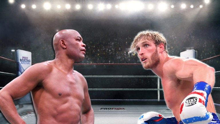 Anderson Silva and Logan Paul are in talks about the fight.