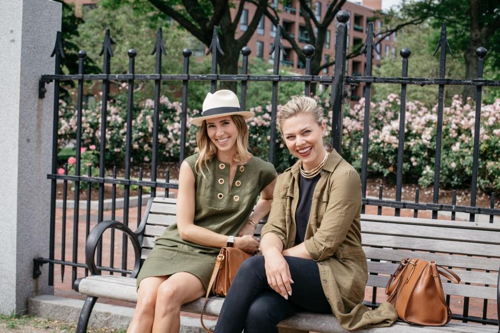 Lauren Kelp, Chicago Fashion Blogger, Marshalls Surprise, Line shift dress with grommets