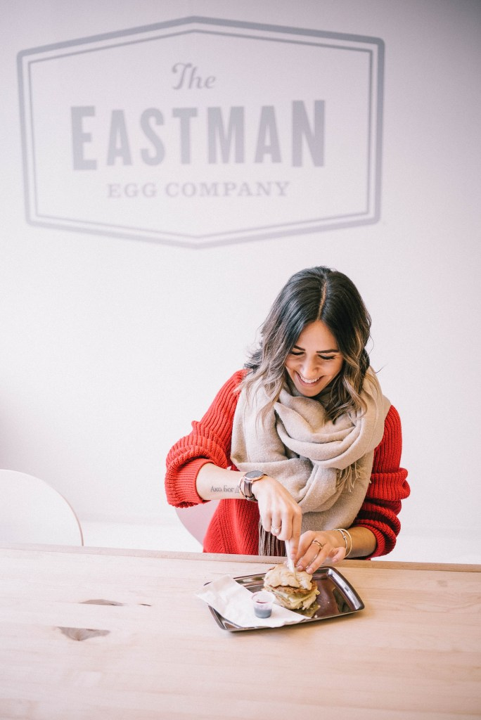 Eastman Egg and Chicago Fashion Blogger