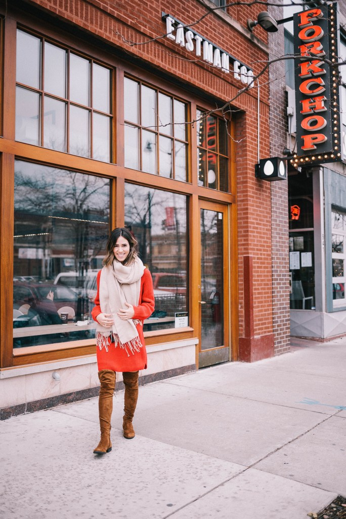Eastman Egg Company and Chicago Fashion Blogger