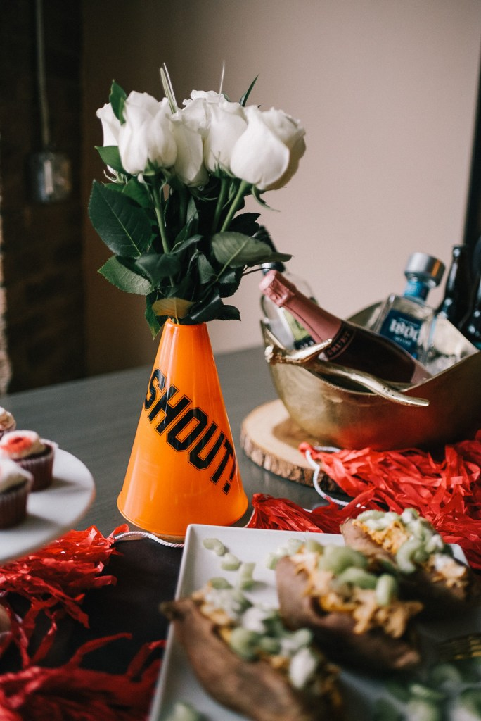 DIY Tips for Super Bowl party and Championship Party tips with The RoomPlace