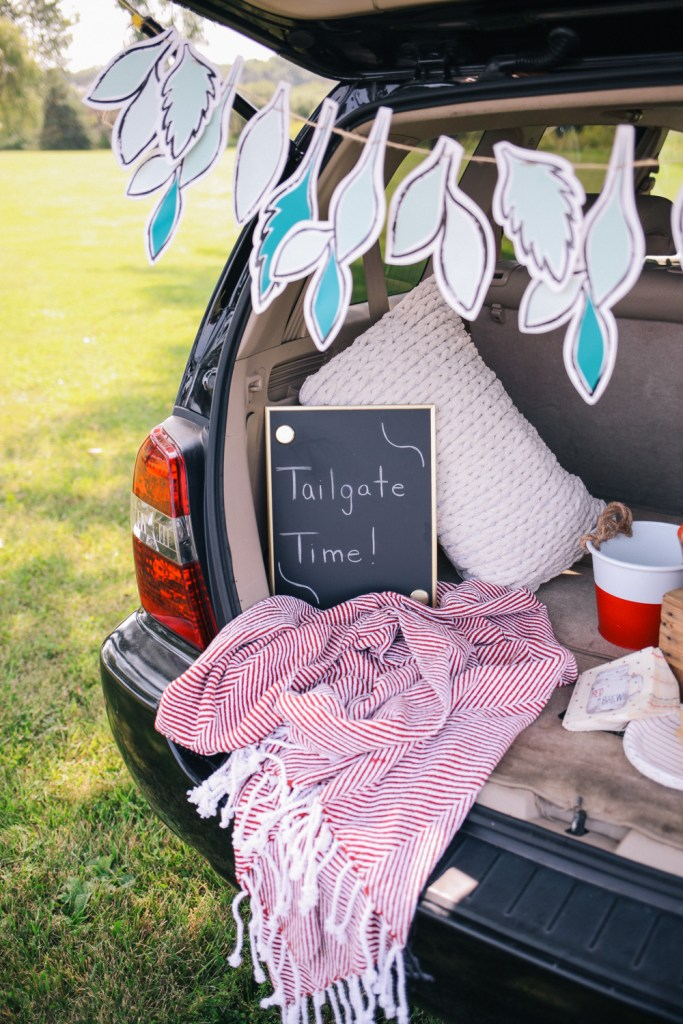 Blogger Mary Krosnjar and Tailgate Ideas