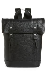Treasure & Bond Remy Pebbled Leather Backpack