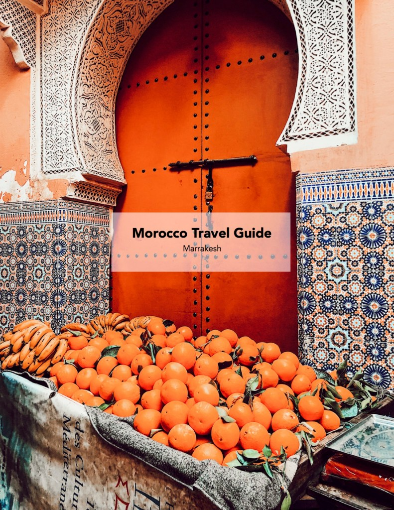 Blogger Mary Krosnjar Morocco Travel Guide