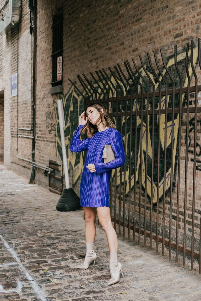 What to wear to a holiday party and Tibi Mini Dress