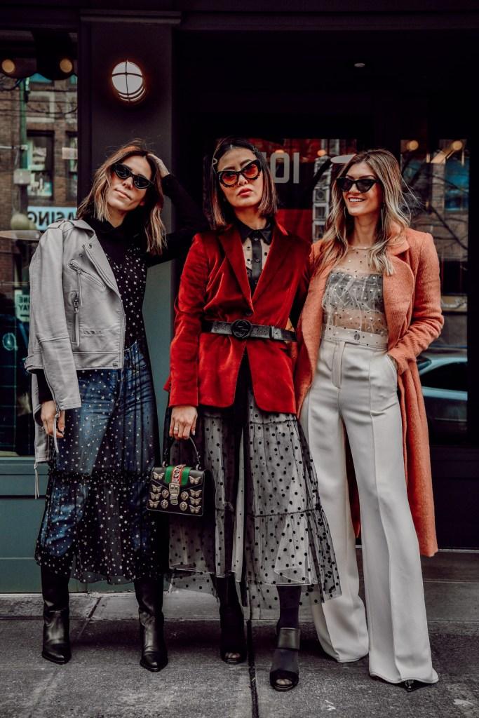 Blogger Sportsanista wearing Chelsea28 Glitter Star Sheer Full Slip and Seattle Stylelogue