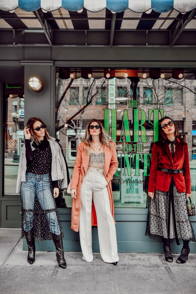 Seattle Fashion Blogger Sportsanista and Seattle Stylelogue