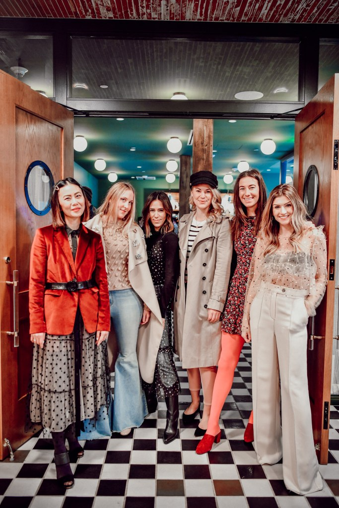 Seattle Fashion Bloggers E For Elisa, Sportsanista, The Grey Edit, NW Best Dressed, Whit Wanders and The Color Floral