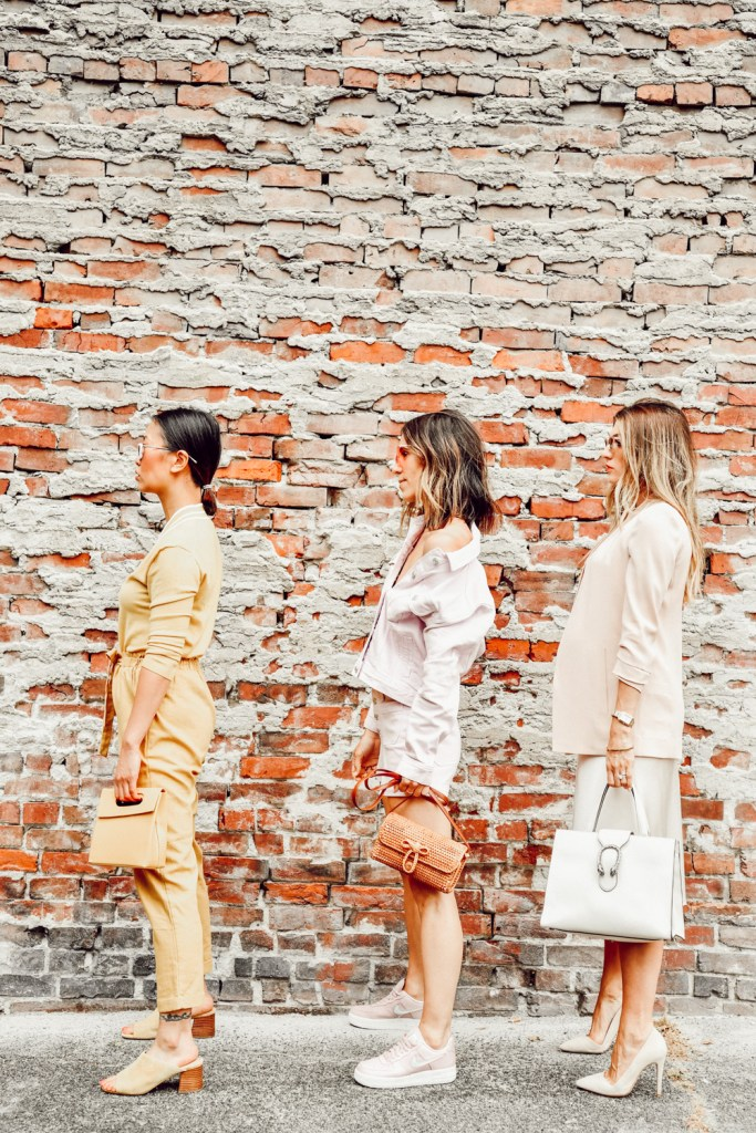 Seattle Fashion Bloggers sharing how to style monochromatic looks for summer
