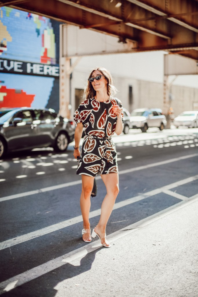 Seattle Fashion Blogger Sportsanista wearing Who What Wear matching set