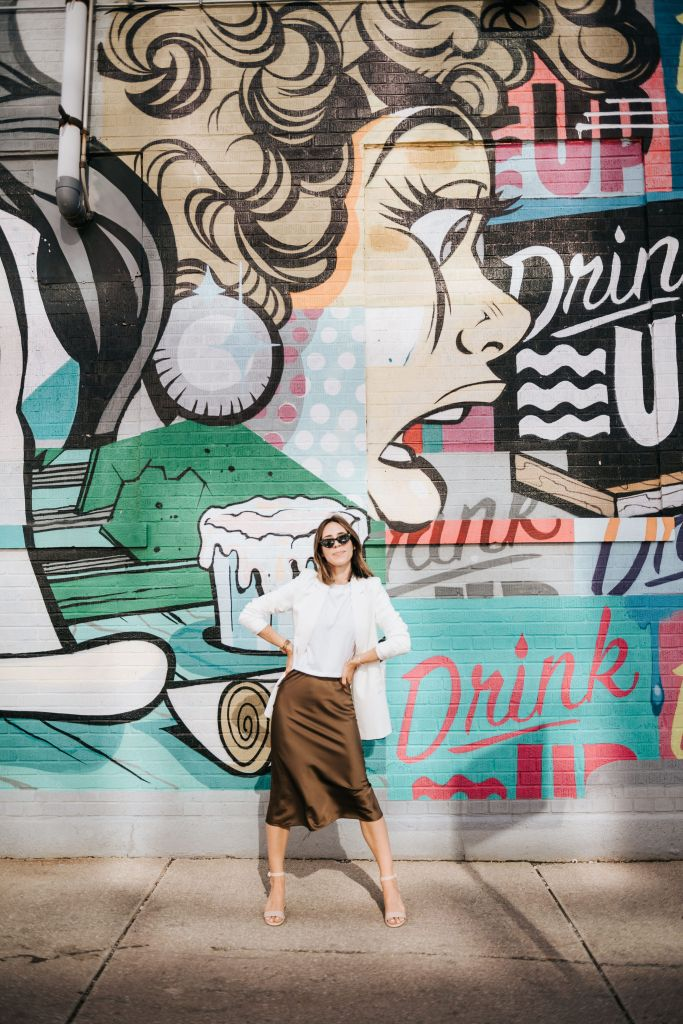 Fashion Blogger Sportsanista wearing staples from The Drop by Amazon Fashion