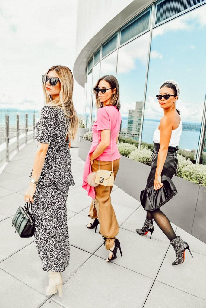 Seattle Stylelogue styling Asymmetric Fashion Three Ways