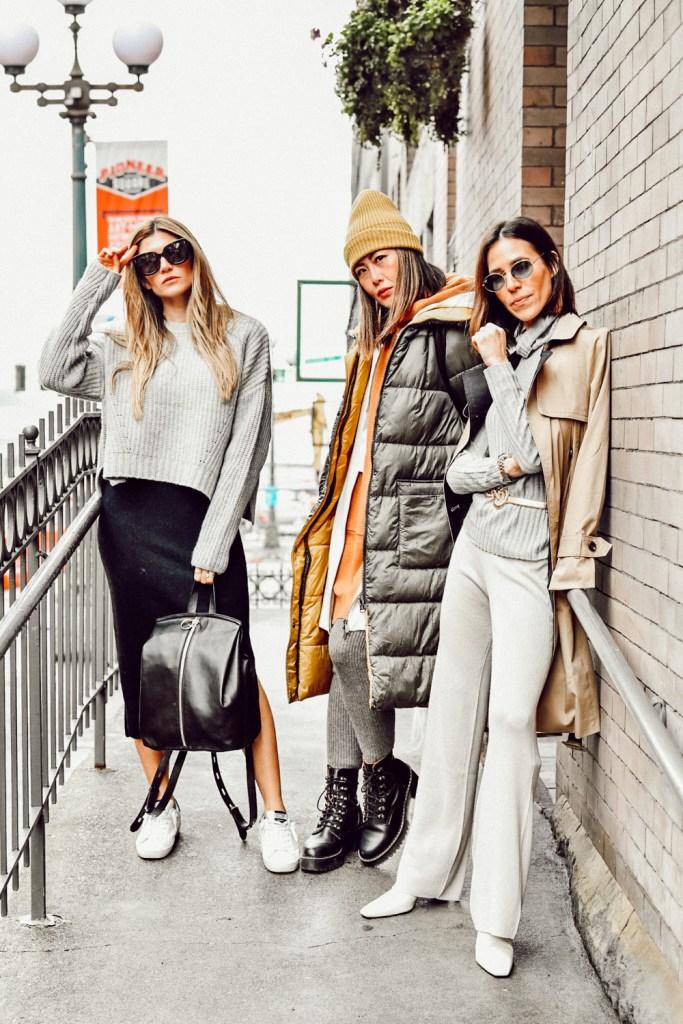 Seattle Stylelogue Naadam Knitwear