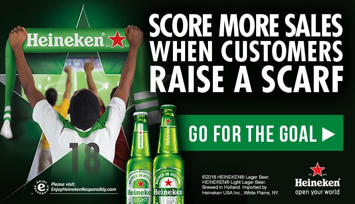 2018 International Soccer Tournament Heineken Promotion for Sports Bars