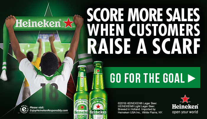 Heineken Raise a Scarf soccer promotion