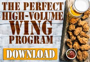 High Volume Wing Program for Sports Bars