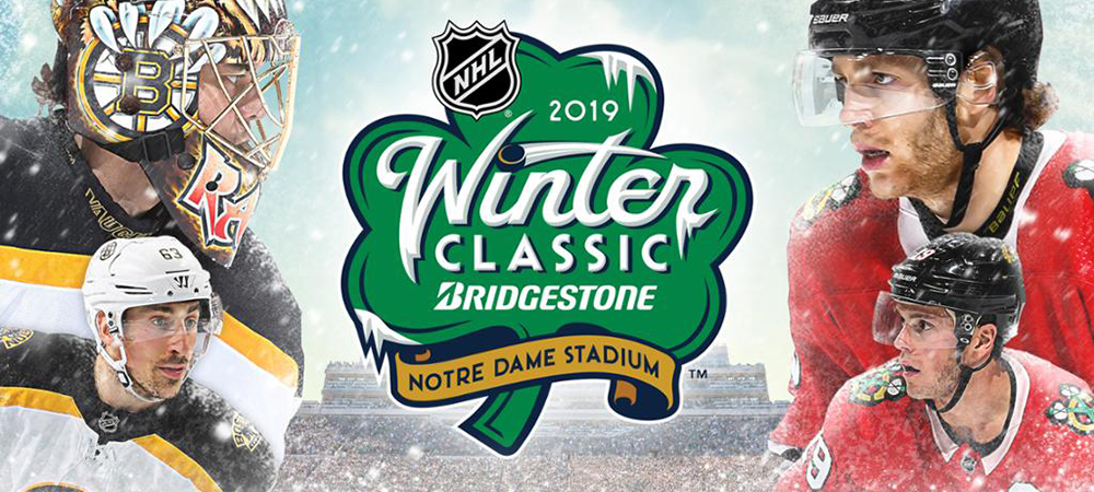 NHL Winter Classic Bruins-Blackhawks