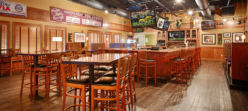 Empty Sports Bar