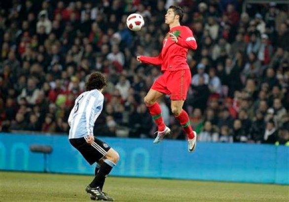 Ronaldo's Jump